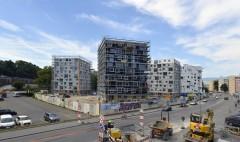En construction à louer appartements Fontenette Carouge logements HBM Subventionnés Fondation Emma Kammacher