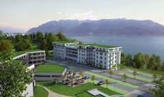 Construction de haut standing appartements PPE à Chexbres Promotion Naef et Christian Constantin