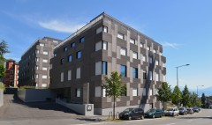 Hôtel des Patients Lausanne CHUV architecture Brauen waelchli Implenia Entreprise Générale Reliva et Retraites populaires