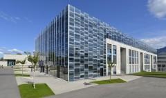 Collège du Sud Bulle Fribourg Agrandissement extension rénovation d'une école façade verre double-peau