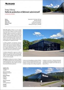 Site de production Morand Construction métallique serrurerie