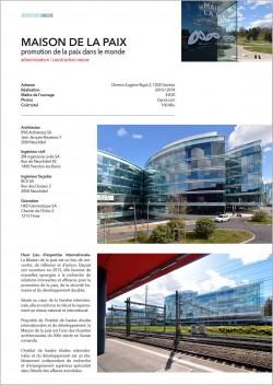 La Maison de la Paix Genève IPAS architectes