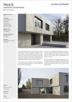 Villa contemporaine moderne à Founex villa béton Counson architectes