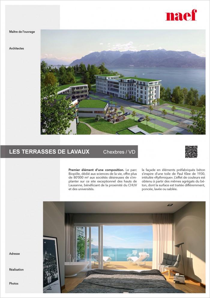 Construction de haut standing appartements PPE à Chexbres Promotion Naef