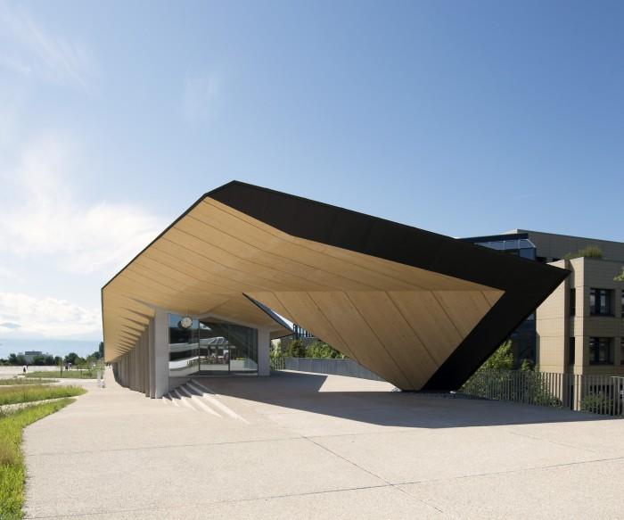 Under One Roof projet d'architecture à l'EPFL