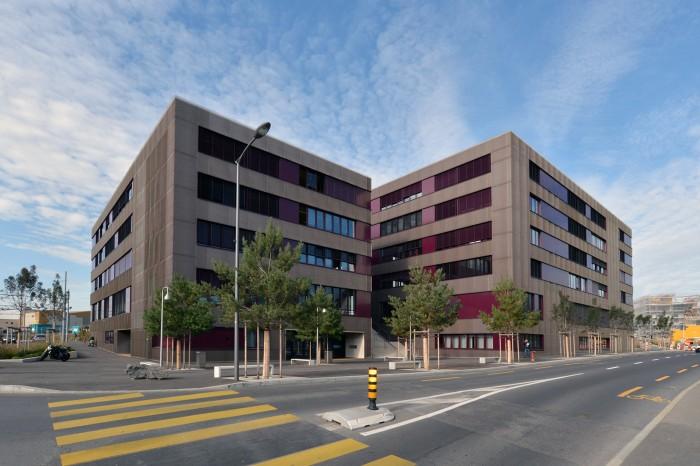 Construction du Gymnase de Renens CEOL GYRE Avenue du Silo Rue du Simplon
