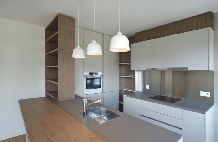 Caudoz Pully rénovation transformation d'un appartement PPE Veneta Cucine