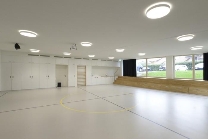 Collège du Fey Moudon Epure HRS salle d gymnastique rythmique