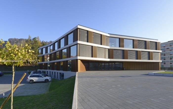Collège du Fey Moudon Epure HRS Préau