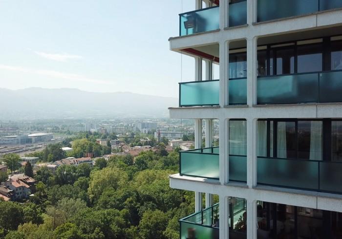 La rénovation en 2019 a été menée par Construction Perret en EG et Omarini Micello architectes