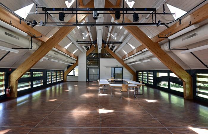 Salle Closalet Henniez Epure architecture
