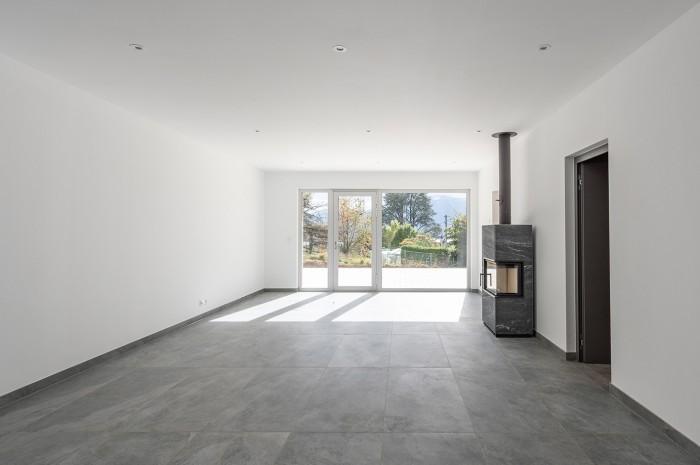Villa contemporaine à Blonay SC Architectes Poêles Tulikivi Jokka