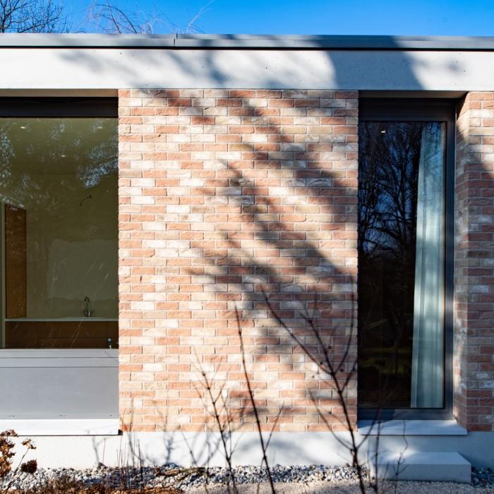 Villa inspiration Mies van der Rohe atelier objectifs maçonnerie Dorner