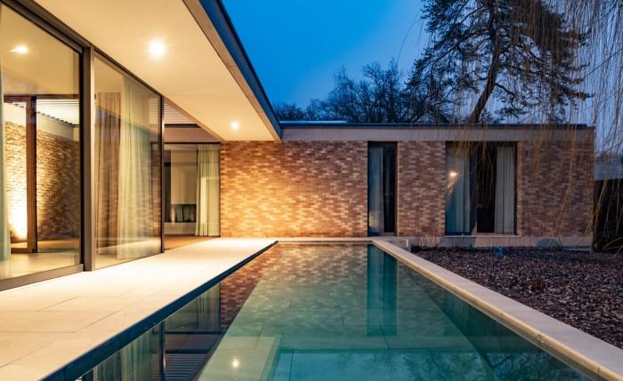 Villa inspiration Mies van der Rohe atelier objectifs bassin piscine H2O