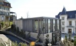 Villa Bellevue Extension contemporaine et restauration de la villa existante au siège de la Fédération Internationale de Natation (FINA) Glatz et Delachaux architectes Nyon