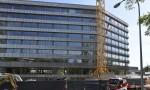 Campus santé genève Internationale FIPOI futur siège du Fonds mondial construction Implenia