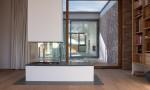 Villa inspiration Mies van der Rohe atelier objectifs Cheminée Christener