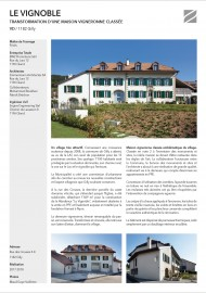 Zimmermann Architectes Le vignoble Gilly