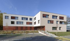 EMS La Lembaz Valbroye Marnand Epure Architectes vue entrée