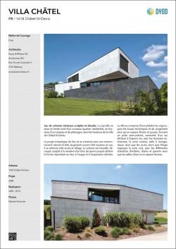 villa familiale moderne contemporaine