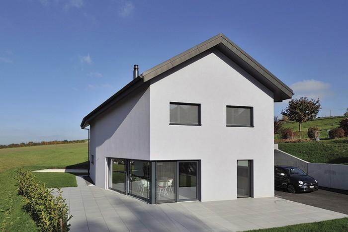 Villa Meregniau villa familiale moderne contemporaine Didier Pittet Architecture
