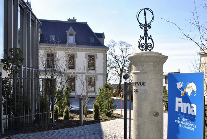 Villa Bellevue siège de la Fédération Internationale de Natation (FINA) à Lausanne