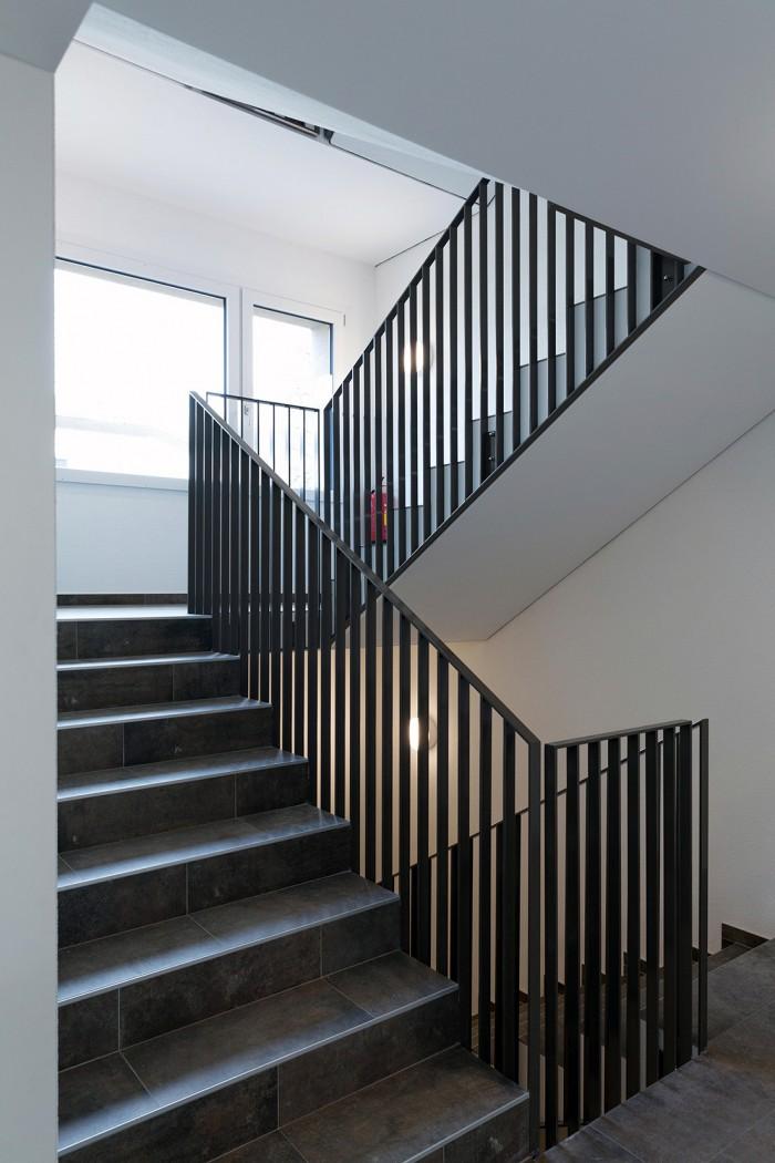 garde corps rampe d'escalier