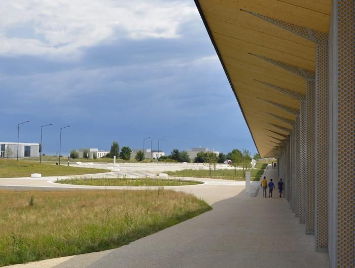 EPFL Esplanade du Rolex Learning Center