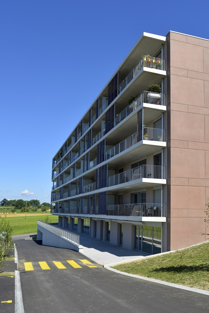 bâtiment locatif