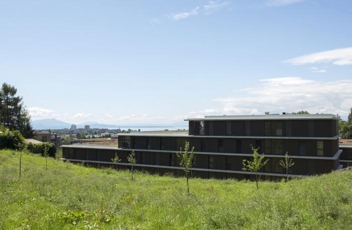 A louer Quartier d'habitation architecture moderne location Lausanne