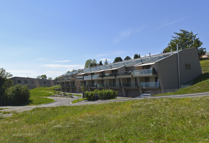 quartier d'habitation à Lutry