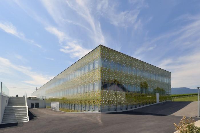 Premier bâtiment de laboratoires de Suisse labellisé Minergie-P-ECO