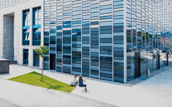 Collège du Sud Bulle Fribourg architecture 3plus architectes