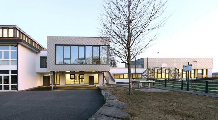 Collège de Denens agrandissement de Benoit architectes
