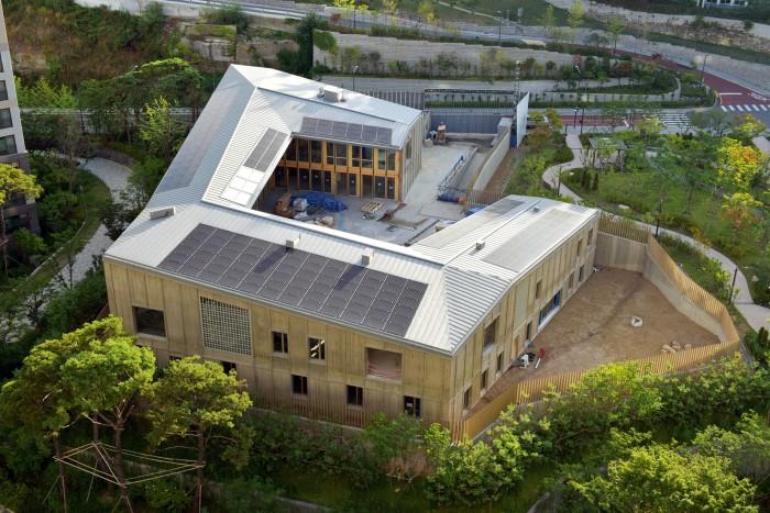 Ambassade de suisse à Séoul Burckhardt partner chantier 2018