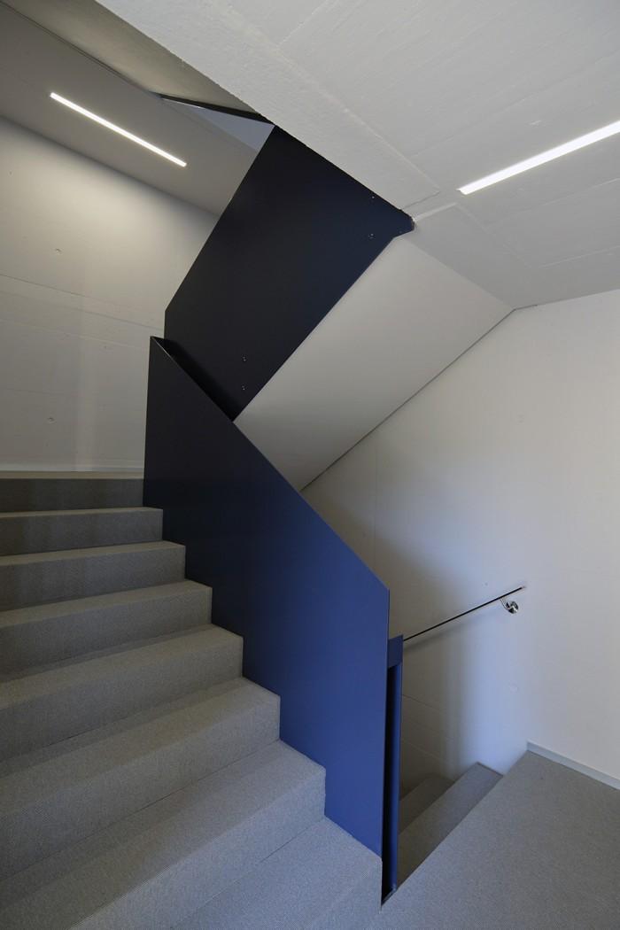 La Rochelle Prilly Immeuble PPE Sennwald architectes moquette sur escalier HKM parquets