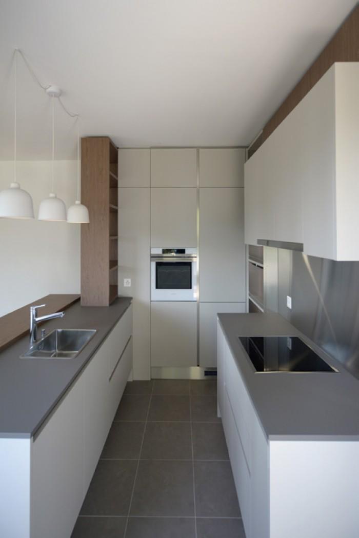 Caudoz Pully rénovation transformation d'un appartement PPE Veneta cucine cuisine