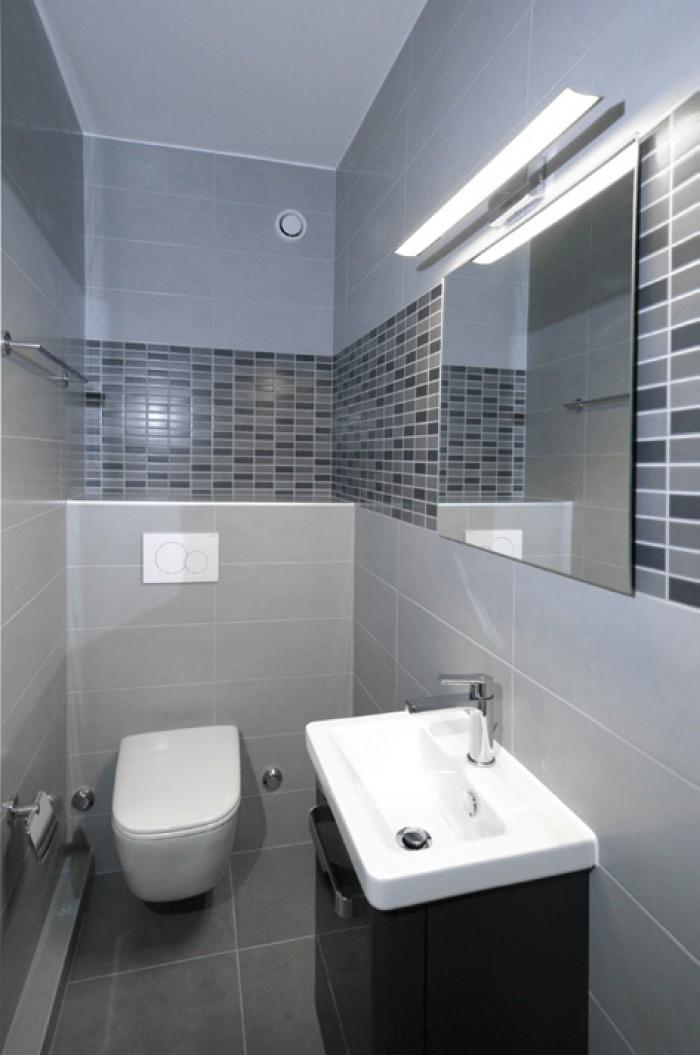 Caudoz Pully rénovation transformation d'un appartement PPE salle d'eau