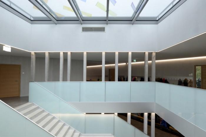 Collège du Fey Moudon Epure HRS verrière sur escalier