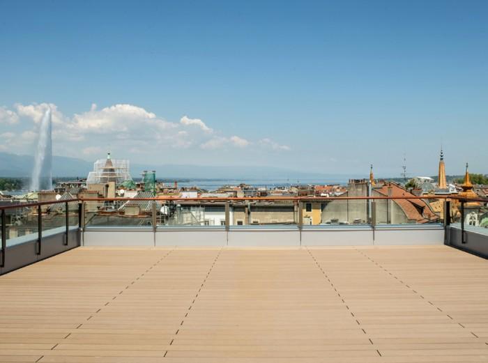 Architecture rénovation de l'EMS Terrassière à Genève Atelier Objectifs architectes