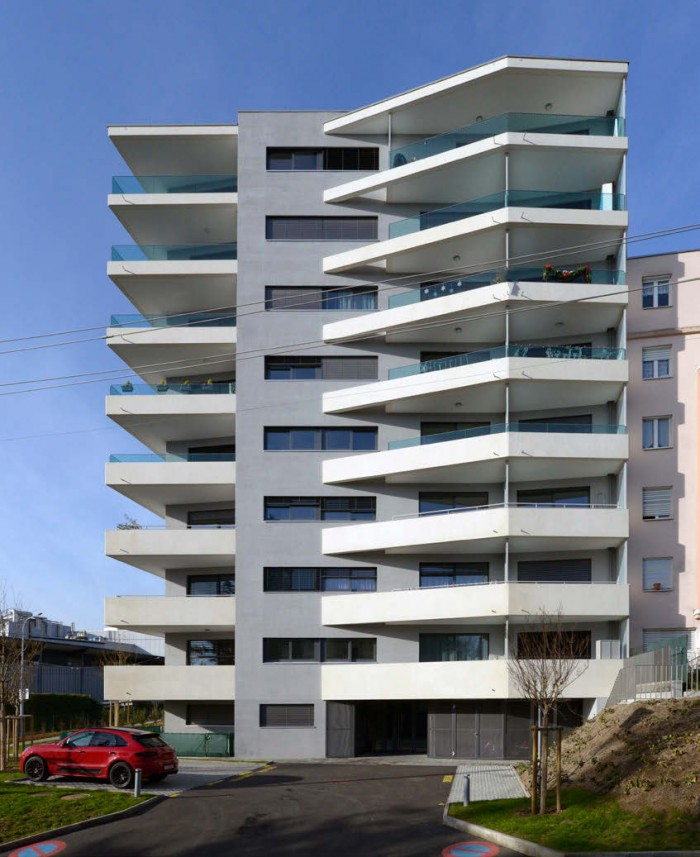 Immeuble PPE et HM Genève par Pierre Ambrosetti Architectes
