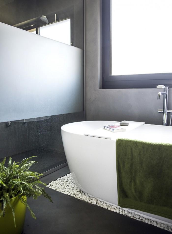 Villa contemporaine à Servion Cré'Architecture à Puidoux Béton ciré