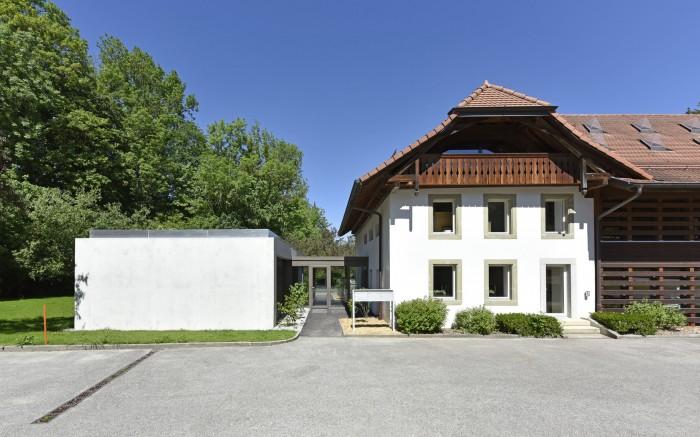 Commune d'Henniez transformation et rénovation Closalet Epure architecture