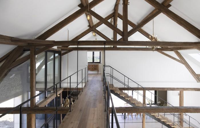 Transformation Rénovation Grange Ferme Cré'Architecture
