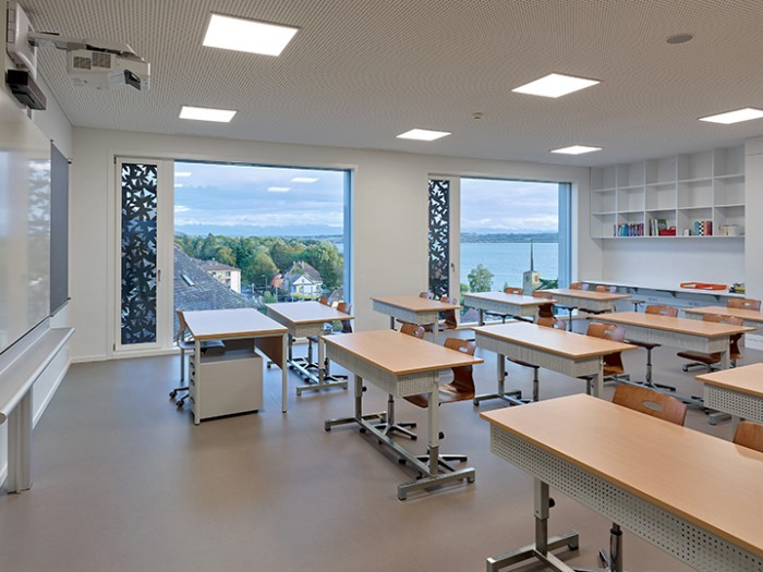 Collège de Vigner Saint-Blaise Patrick Minder architectes classe harmos