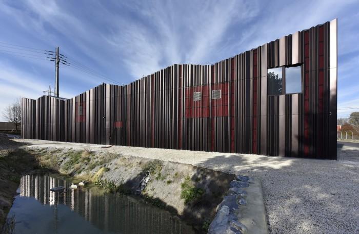 Poste couplage Romanel Eponym architectes SIL Swissgrid