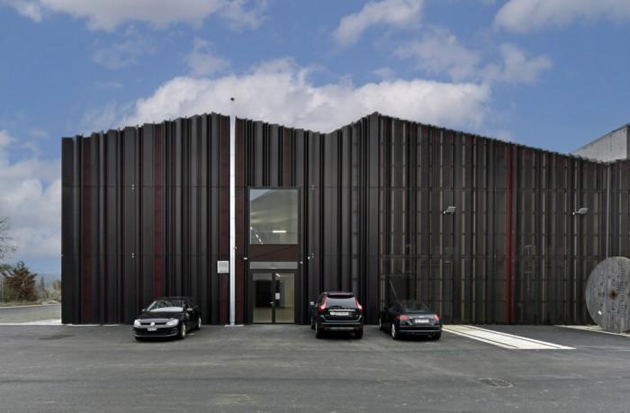 Poste couplage Romanel Eponym architectes